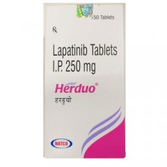 Lapatinib tablet Herduo Natco 250mg 拉帕替尼